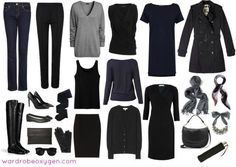What to Wear to Paris: A capsule wardrobe for the woman traveling to France in the spring or fall.