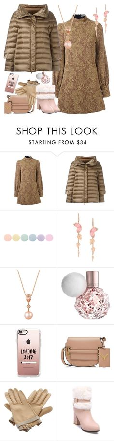 """PUFFER"" by petalp ❤ liked on Polyvore featuring Amen, Hetregó, Deborah Lippmann, Stephen Webster, LE VIAN, Casetify, Valentino, Hermès and ootd"