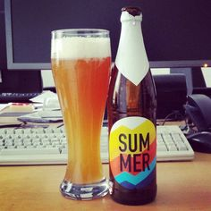 Summer at work #andunion #summer #craftbeer #kiel #craftbeerkiel #wheatale #weizenbier #wheatbeer #beerlove #beerporn #instabeer #beerstagram #nowdrinking #cheers #beer #bier #cerveja #cerveza #birra #beernerd #drinkcraftnotcrap #prost