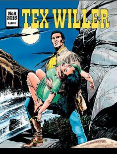 Tex Willer -lehti no 8/2015. #egmont #sarjakuva #sarjis #sarjakuvalehti