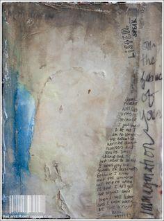 art journal page by Julie Prichard