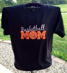 Basketball Mom  visit my shop at www.facebook.com/pinkposiecouture