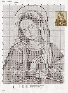 Хобби женские работы - вышивка - вязание крючком - вязание: Религия Вышивка крестом