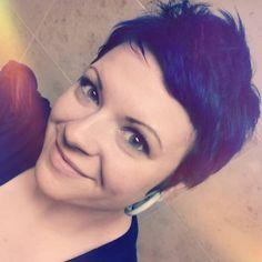 Megan: one of our many talented stylist at Salon Aria!  #salonaria #salonariawoodridge