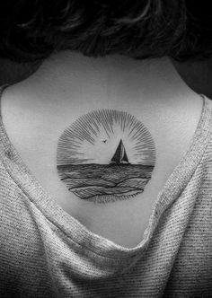 linework tattoo