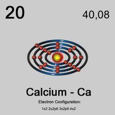 calcium bohrsches atommodell - Google-Suche
