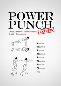 Power Punch Express  Workout | Posted By: AdvancedWeightLossTips.com