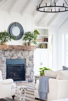 If you are looking for Lake House Living Room Decoration Ideas, You come to the right place. Below are the Lake House Living Room Decoration Ideas. This post about Lake House Living Room Decoration Id. Farmhouse Fireplace, Home Fireplace, Fireplace Surrounds, Fireplace Design, Fireplace Ideas, Brick Fireplaces, Cottage Fireplace, Shiplap Fireplace, Fireplace Shelves
