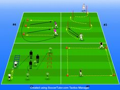 Soccer conditioning - you either love it or you hate it. Football Coaching Drills, Soccer Drills For Kids, Soccer Conditioning Drills, Football Tactics, Soccer Workouts, Soccer Training, Field Hockey, Conditioner, Dynamic Stretching