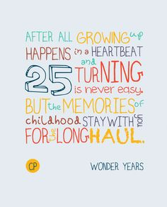 Happy 25th birthday cards 12 cards pinterest 25th birthday turning 25 is never easy just words of wisdom bookmarktalkfo Gallery