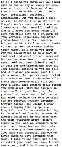 robin williams monologue - good will hunting | Tumblr