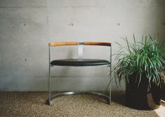 Scultpure Chair by Fabricius & Kastholm for bo-ex furniture. At the home of a Japanese collector.