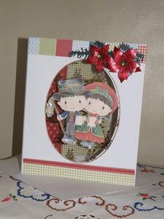 Christmas Card using Kanban Patchwork pals Christmas Patchwork, Xmas Ideas, Card Ideas, Christmas Cards, Art, Xmas Greeting Cards, Art Background, Kunst, Xmas Cards
