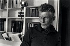 Samuel Beckett, 1964, photo by  Henri Cartier-Bresson