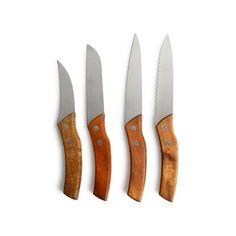 Dieses Messerset bereichert Deine Besteckschublade um besonders elegante und hochwertig gefertigte Stücke.