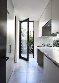 Home Design Inspiration Kitchen Open Concept 21 Ideas For 2019 Laundry Doors, Laundry Chute, Laundry In Bathroom, Laundry Tips, Small Laundry, Laundry Cupboard, Laundry Cabinets, Laundry Closet, Laundry Storage