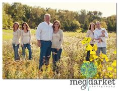 Large Family Photos | Meg Darket Photography