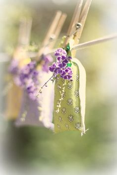 Lavender sachets by lucia and mapp on Flickr.
