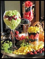 Amazing Wedding Fruit Station # Arizona Catering # Glendale Civic Center Weddings & Receptions