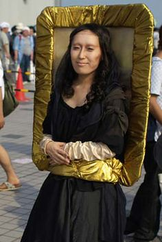 Mona Lisa | 17 Brilliant Art History-Inspired Halloween Costumes