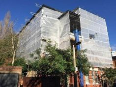 B&J company providing professional scaffolding services in London, we support construction companies but we also invite individual customers. Scaffolding, Commercial, Multi Story Building, Construction, London, Building