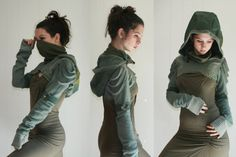 Apocalypse Militant Shrug  Deluxe One of a Kind by MoWestCreations
