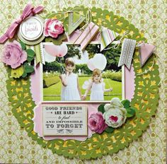 "Anna Griffin & Cricut ""Summer Soiree"" - Scrapbook.com"