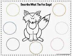 What Does The Fox Say? Freebie!