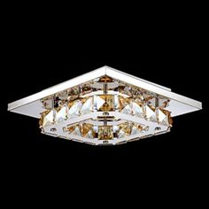 44.60$  Watch now - http://ali5tr.worldwells.pw/go.php?t=32254203973 - Crystal LED Ceiling Lights Lamp For Living Room Lamp Lustres De Sala