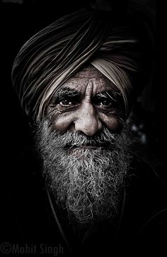 Every wrinkle has a story to tell, every strand of hair has history attached, the depth in the gaze is amazing !