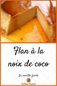 Island cake: the easy recipe - Yuki Alegre Quick Dessert Recipes, Easy Desserts, Cake Recipes, Dessert Dips, Coconut Flan, Island Cake, Cream Cheese Bars, French Desserts, Healthy Fruits