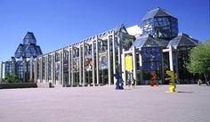 National Art  Gallery Ottawa (Moshe Safdie, designer)