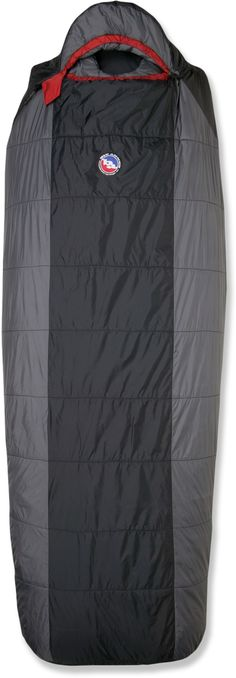 Big Agnes Gunn Creek +30 Sleeping Bag - I just bought a new Big Agnes sleeping pad this summer, and love it... want a bag designed to integrate it...