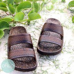 0476bcc2b4a6 Brown Jon Jandals ® - Pali Hawaii Hawaiian Jesus Sandals