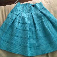 Honey Punch skirt Adorable bandage flare out pouf Honey Punch Skirts