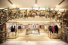 chengdu: lane crawford   #retaildesign #retail #interiordesign