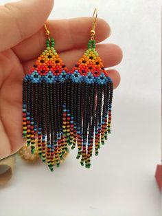 safari theme tribal Leopard print beads and dangle earring singles