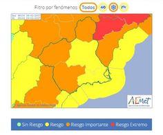 Se mantiene la alerta naranja por nieve en Altiplano, Noroeste, Guadalentín, Lorca y Águilas, y amarilla en el resto