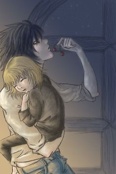 Near and Mello were planned to be L's children. That would've been strange but somehow also kinda cute :)
