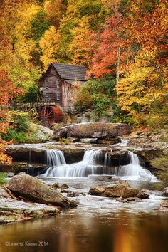 Glade Creek Grist Mill, West Virginia - Babcock State Park | by Lawayne**