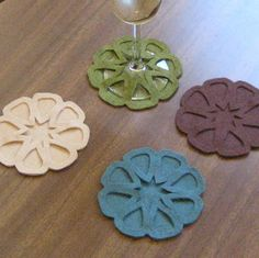 serendipity and spark: Brilliant Wine Coasters