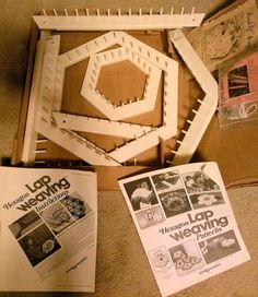 Love & Money Hexagon Lap Weaving Loom Kit