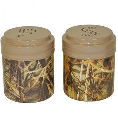 Camo Salt  Pepper Shakers