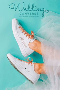 Beautiful rose gold wedding Converse with Swarovski detail for your perfect day! When it comes to customising your converse for your wedding we do it best. If you are seeking an alternative colour/style which isn't featured just get in touch. Converse Wedding Shoes, Wedge Wedding Shoes, Bride Shoes, Wedge Shoes, Converse Gold, Converse Shoes, Alternative Wedding Shoes, Rose Gold Shoes, Designer Wedding Shoes