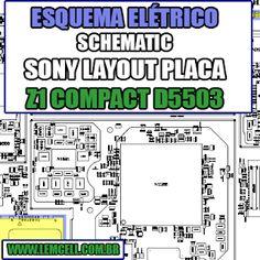Esquema Elétrico Manual de Serviço Celular Smartphone Sony