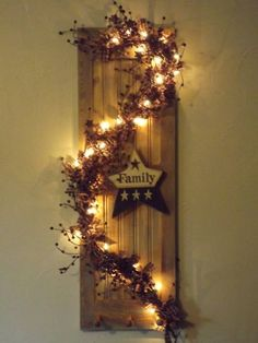 christmas decorated shutter - Google Search