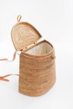 Handmade Rattan Backpack