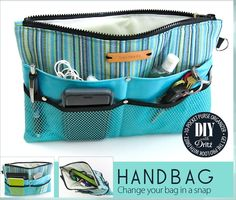 10-Pocket Purse Organizer: Get the Pro Look with Dritz Hardware | Sew4Home