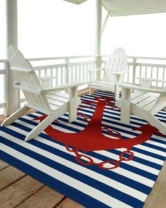Anchor & Stripes Indoor/Outdoor Rugs $75-$1,380