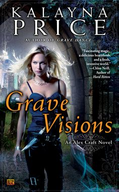 If you want to hear voices from the dead in Nekros City, you call Alex Craft. She's a grave witch with reasonable rates and extraordinary powers who specializes in revealing the secrets of the dead. But she has her own secrets. She's not human—and her newly discovered heritage is causing havoc for her both in the human realm and in Faerie. http://www.amazon.com/gp/product/B009GSFS5Y/ref=series_rw_dp_sw